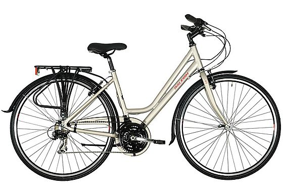 Halfords Raleigh Pioneer 1 Womens Hybrid Bike Escape To The