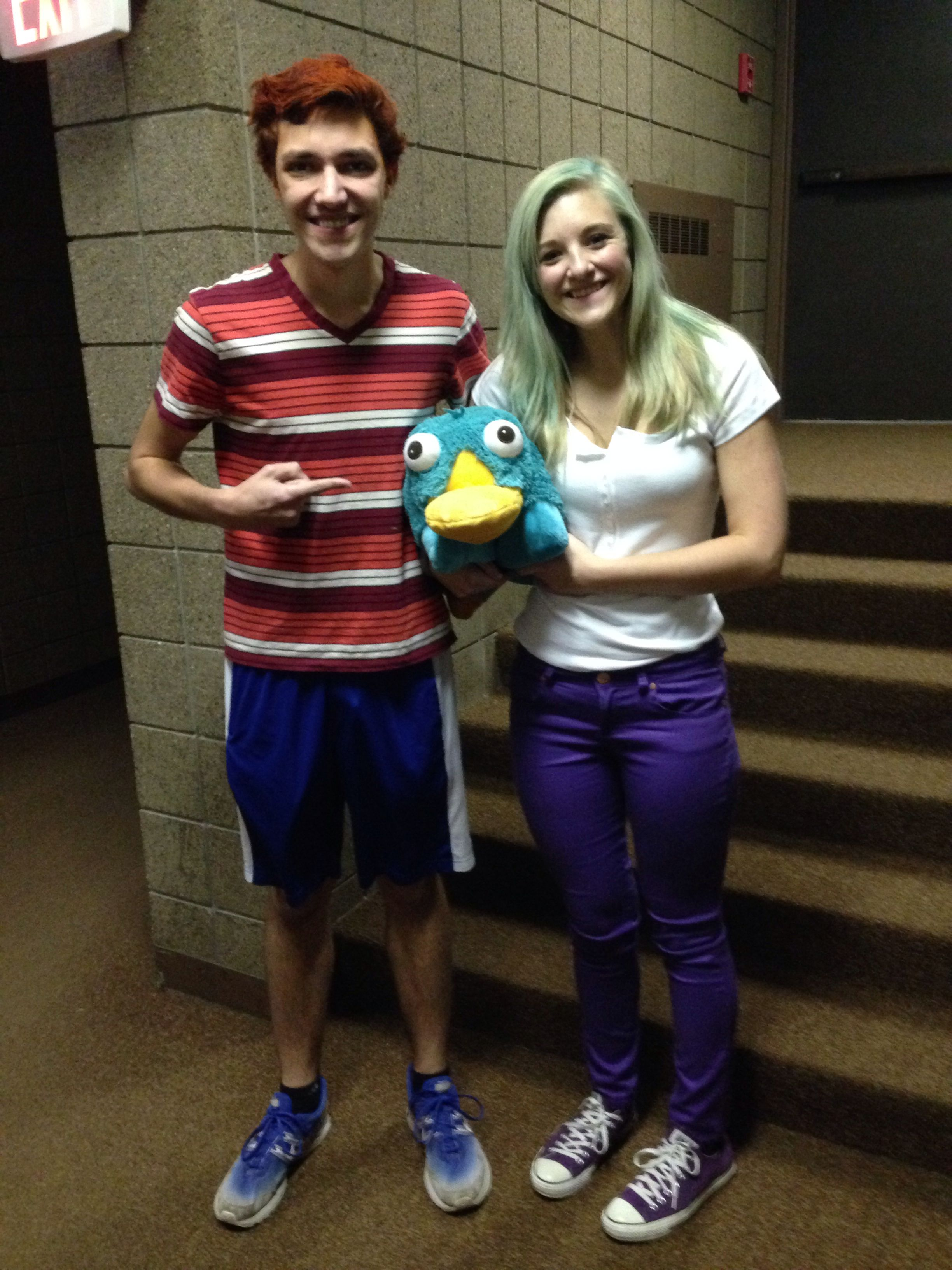 phineas and ferb costumes someone has to do it with me | halloween