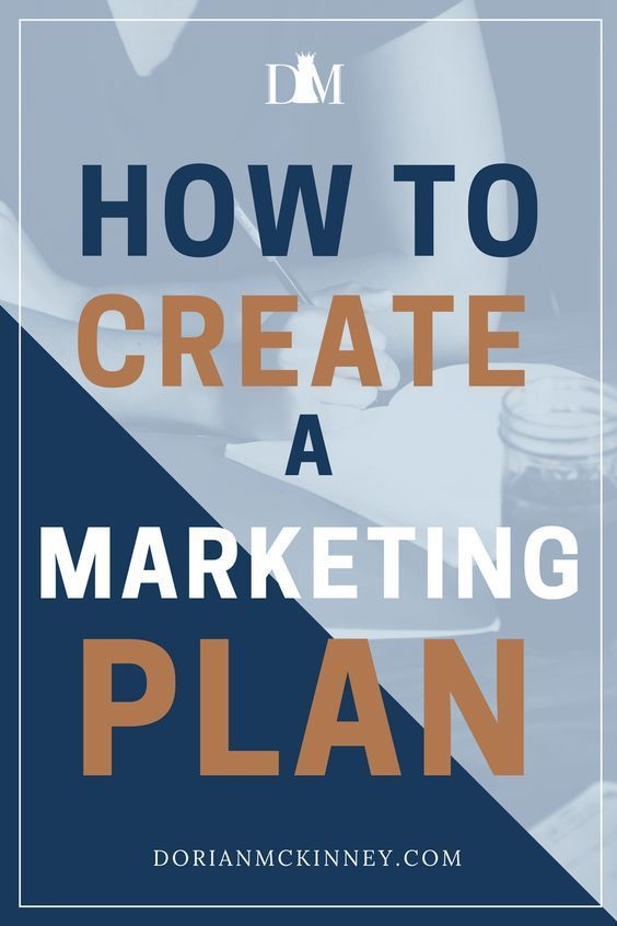 How To Create A Marketing Plan  Business And Blogging