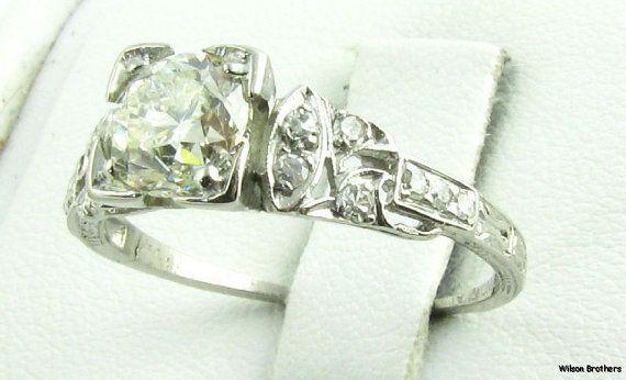 love vintage rings :3