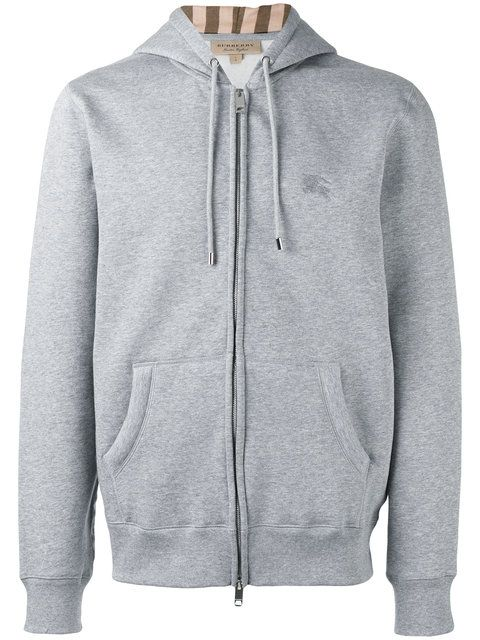 a211edc1afb BURBERRY Zip-Up Hoodie.  burberry  cloth  hoodie
