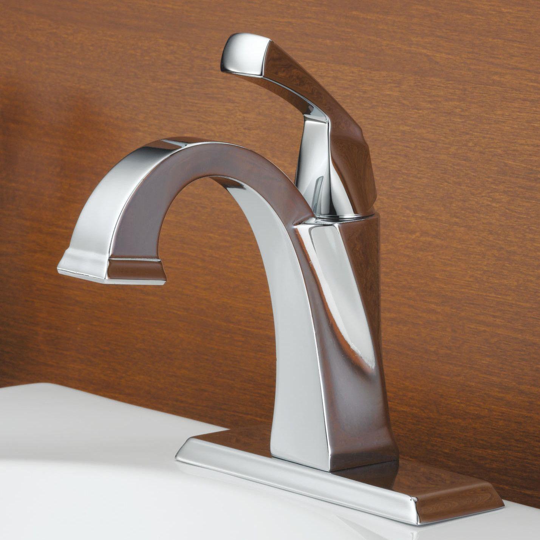 Dryden Single Hole Bathroom Faucet with Diamond Seal Technology ...