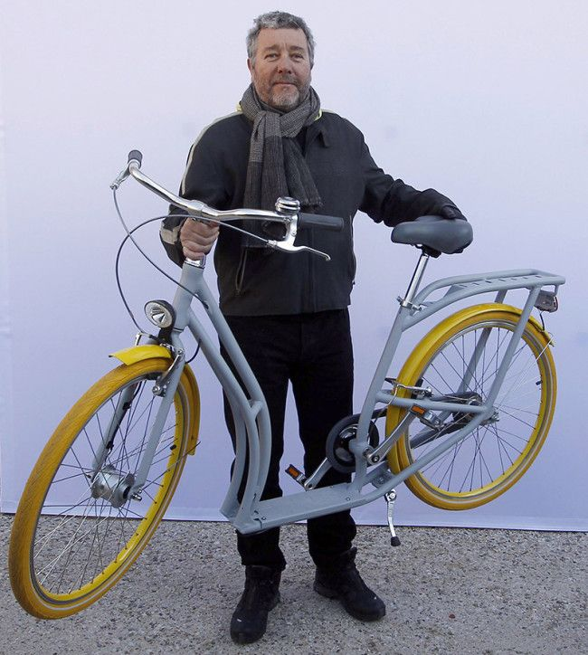 The first twenty Pibal Bicycles by Philippe Starck arrive in France www.trustmedesigner.com