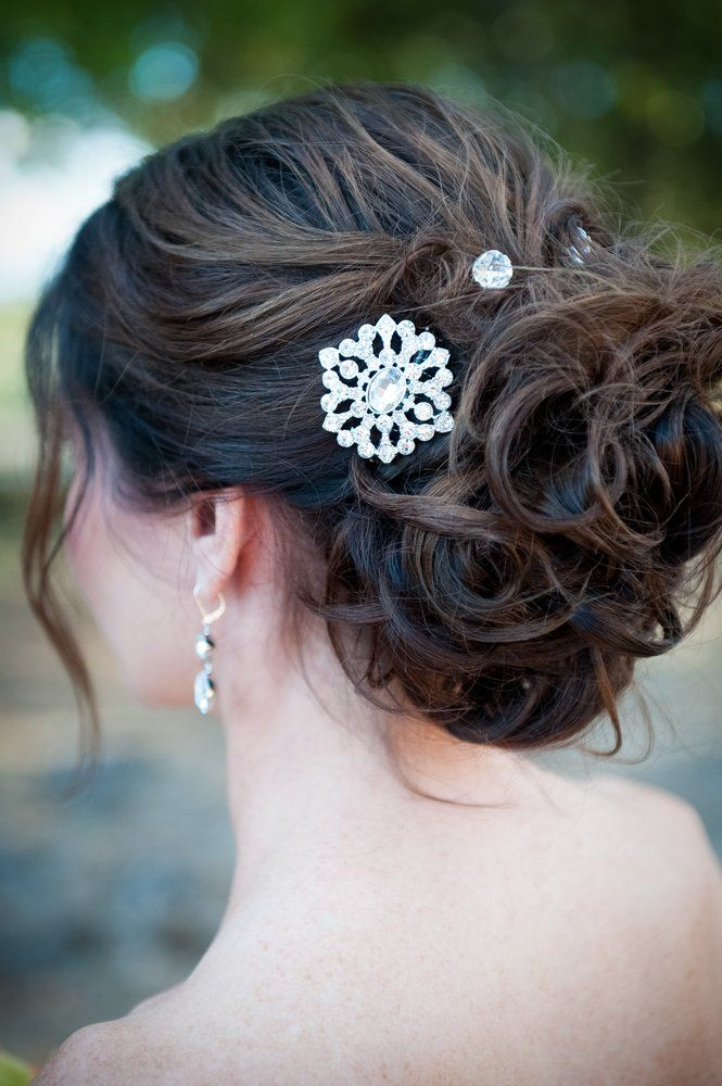 The Powder Room Santa Rosa Ca United States My Wedding Up Do By Deeanna Looked Gorgeous And I Got Many Compli Wedding Up Do Looking Gorgeous My Wedding
