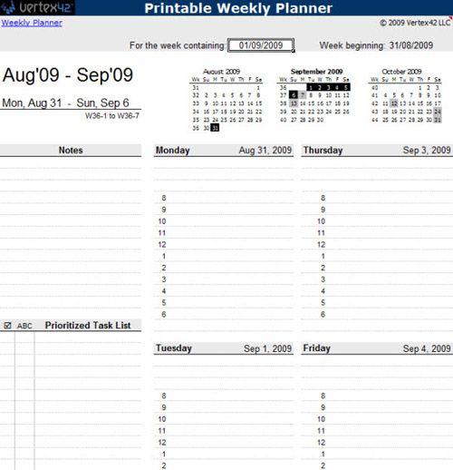Useful Microsoft Word \ Microsoft Excel Templates Microsoft - microsoft weekly planner