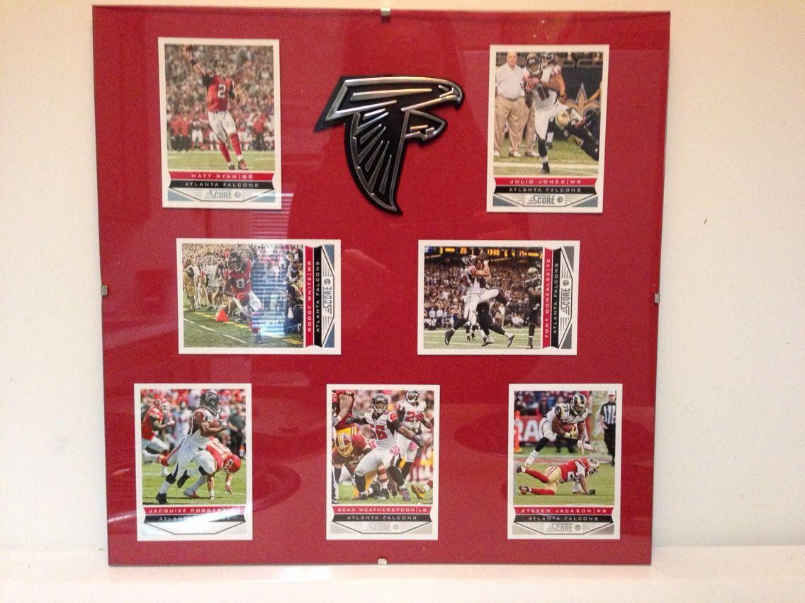 Atlanta Falcons collectible player card idea