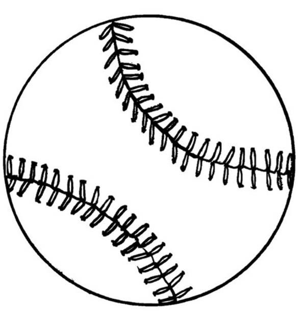 Baseball, Baseball Coloring Page: Baseball Coloring