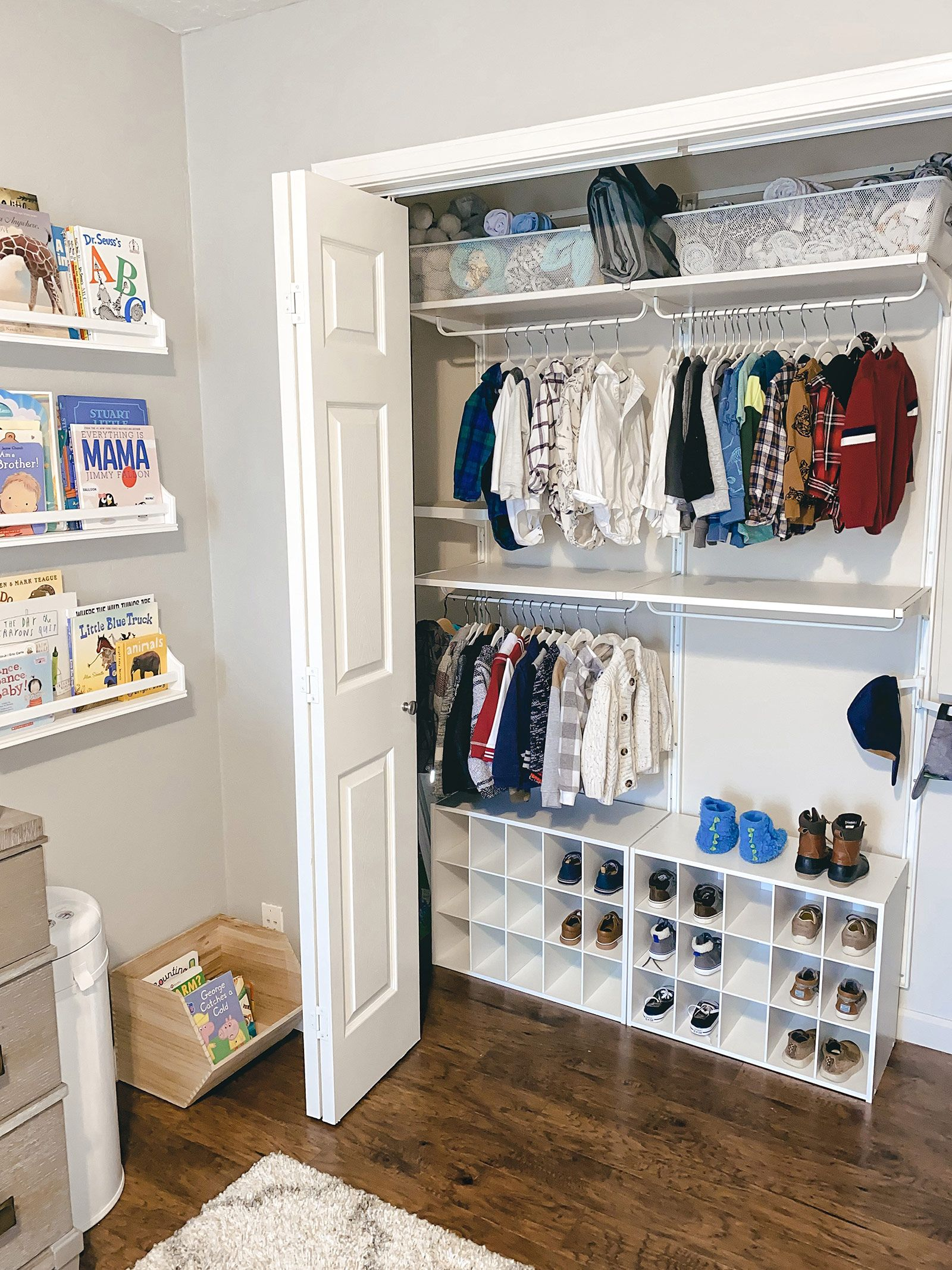 Affordable Storage Solutions for Your Nursery  Nursery closet