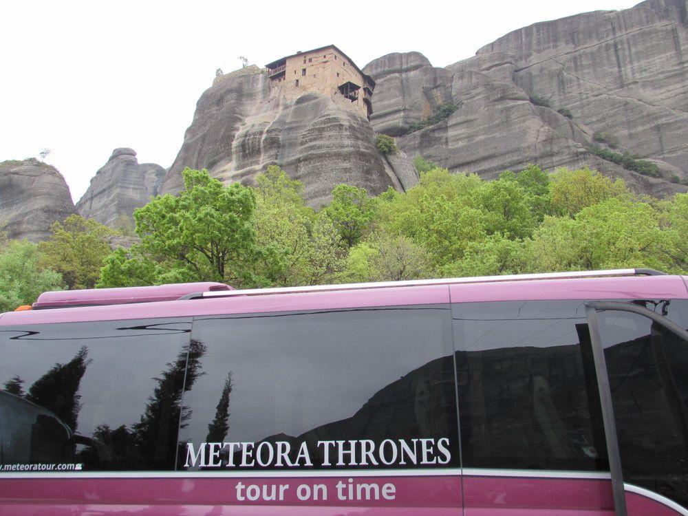 Meteora Mobili ~ Meteora hiking tour walking through an inspiring landscape