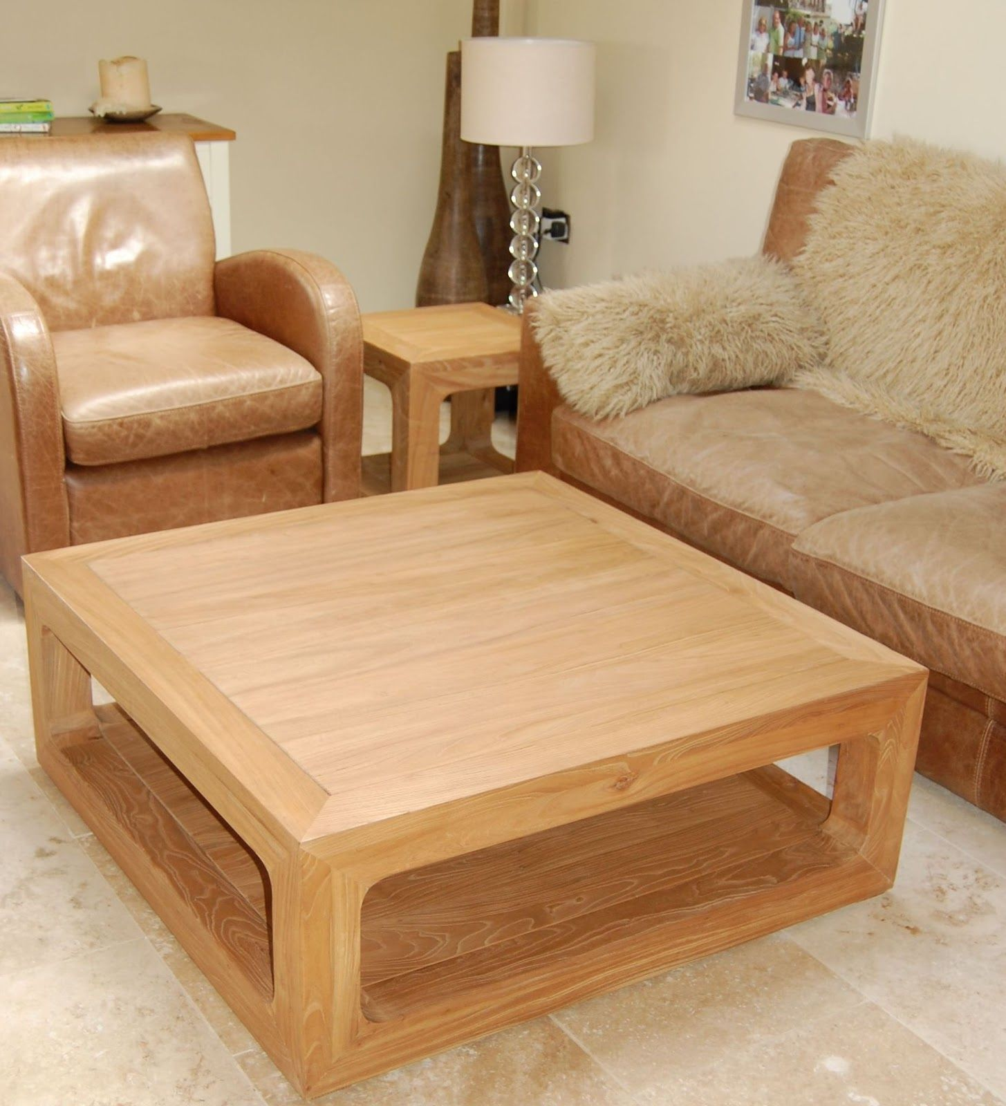 Coffee Table With Rounded Corners