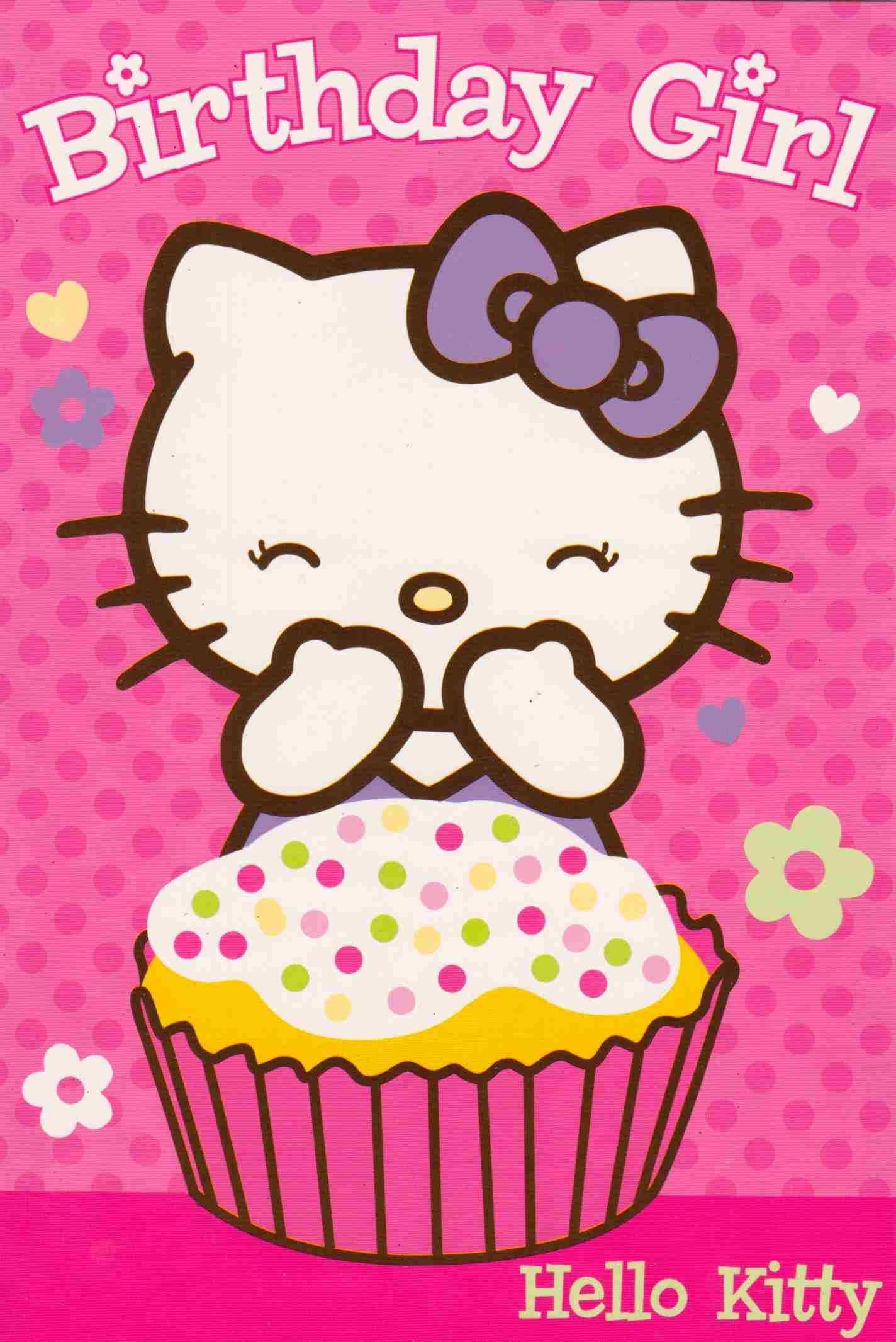 Awesome Hello Kitty Birthday Cakes Portrait Happy Birthday Wishes