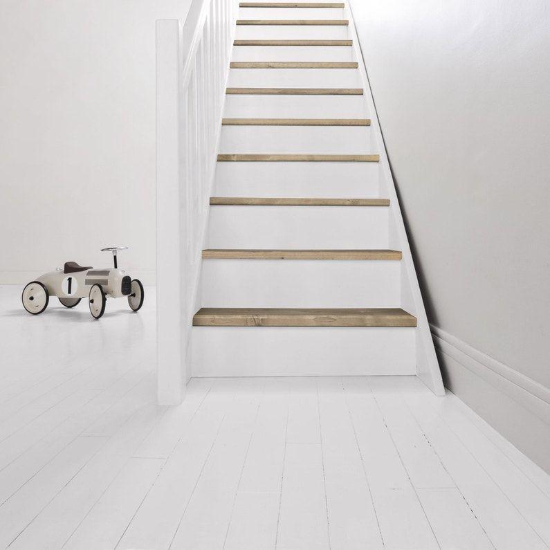 Peinture Sol Interieur Parquet Escalier Decolab V33 Blanc 2 5 L En 2020 Peinture Sol Repeindre Escalier Parquet