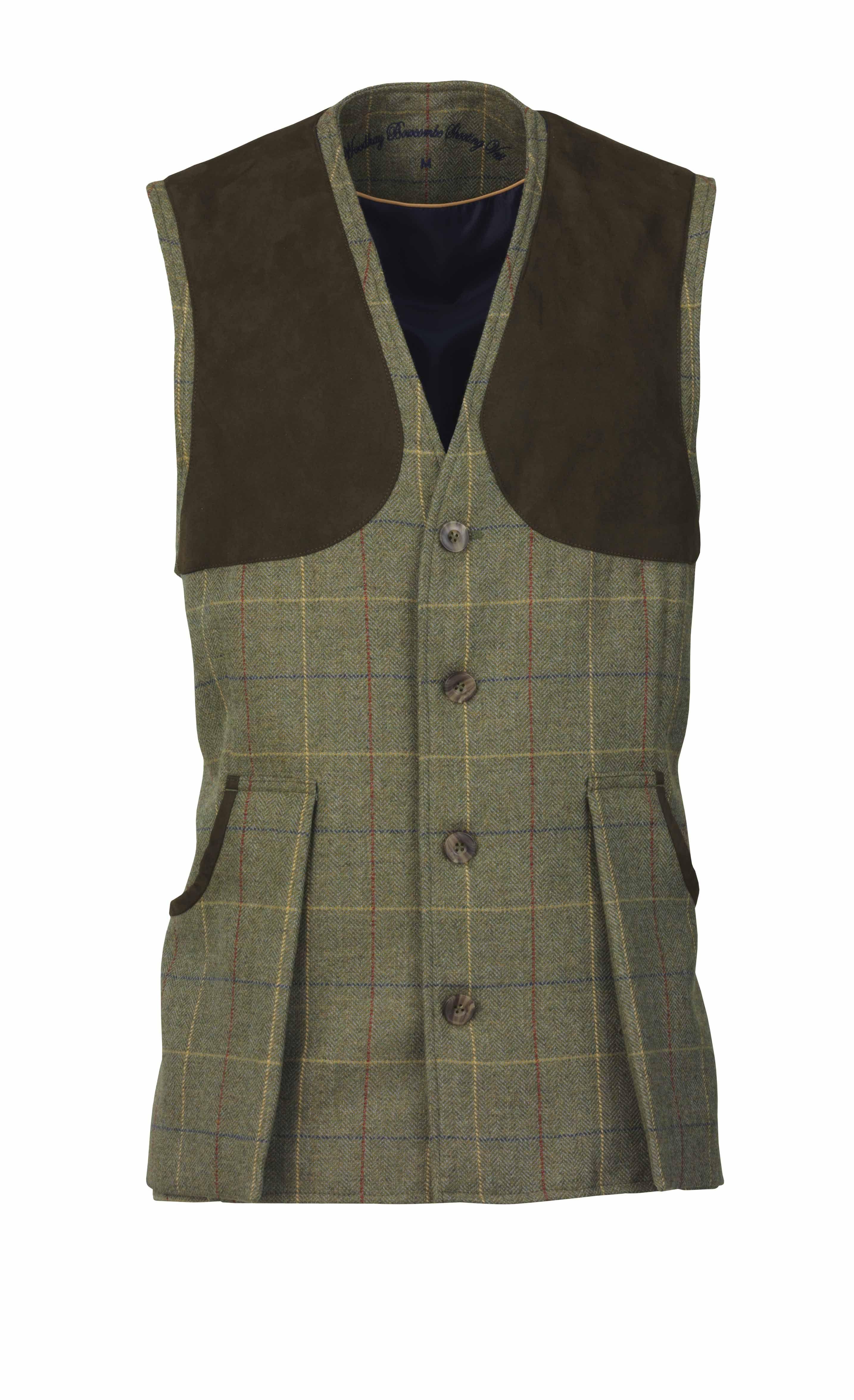5da2d11200054 Laksen Sporting Woodhay tweed shooting vest | Men's clothing & Style ...