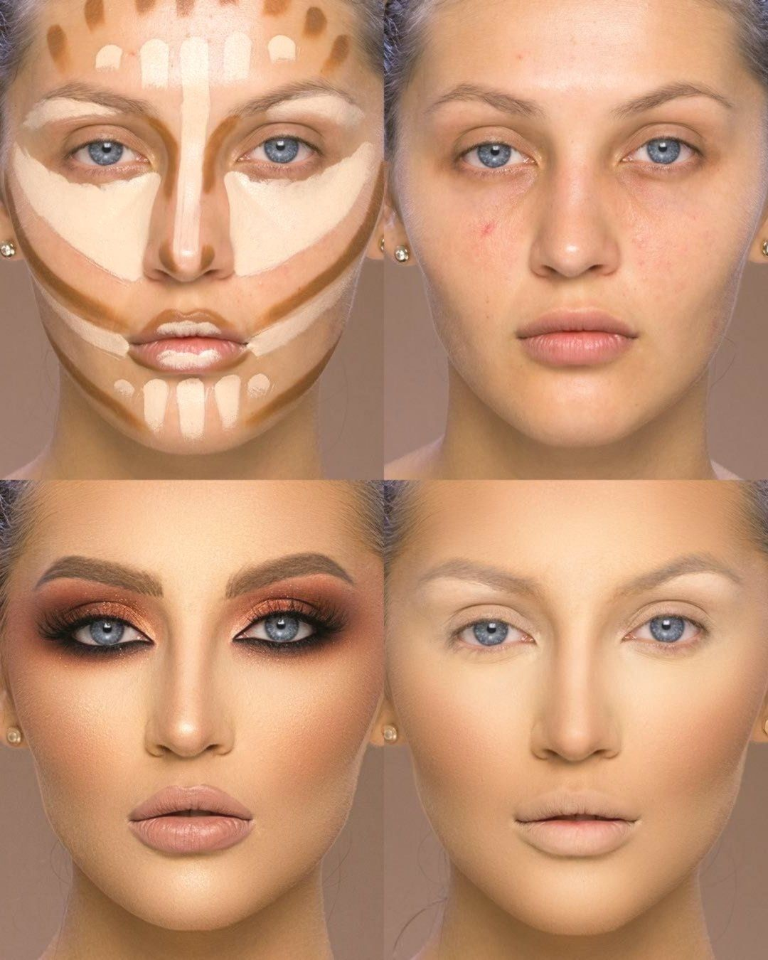 Makeup Tutorial For Beginners Learn How To Apply Makeup Like A Pro With This Collection O Makeup Tutorial For Beginners Makeup For Beginners Highlighter Makeup