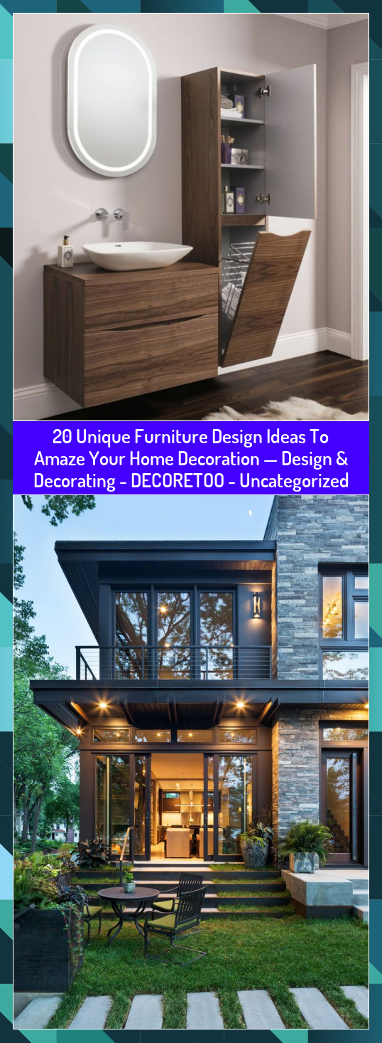 20 Unique Furniture Design Ideas To Amaze Your Home Decoration  Design  Decorating  DECORETOO  Uncategorized