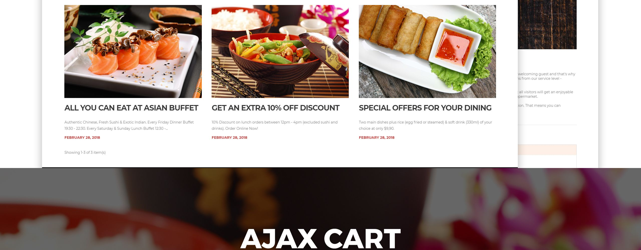 Yangxin Chinese Restaurant Prestashop Theme 68355 Chinese Restaurant Chinese Food Restaurant Asian Food Delivery