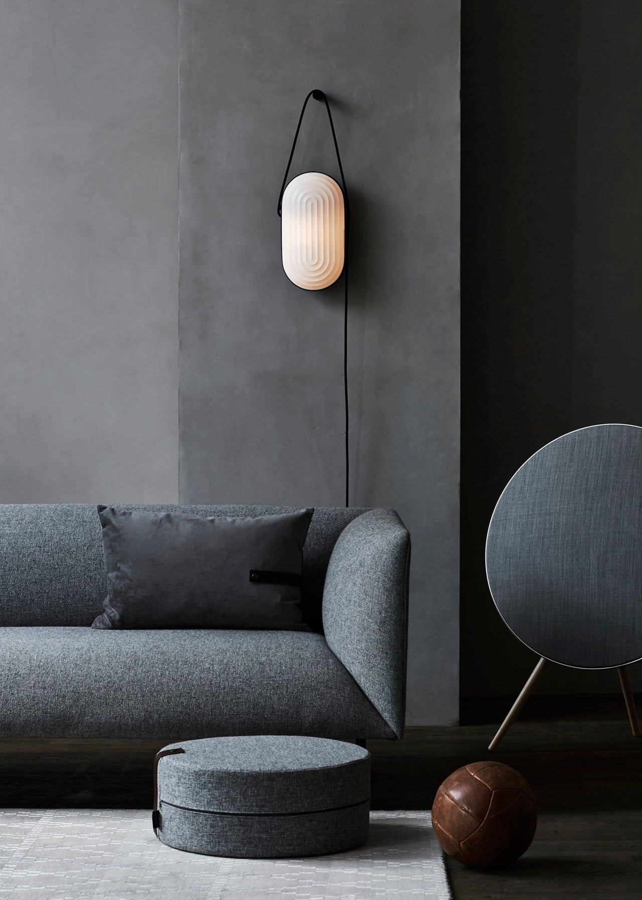 arc lighting collection inspired by the interior of a copenhagen