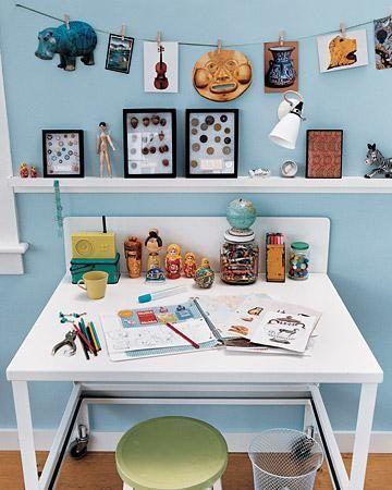 Organizar el area de arte y pintura para los ninos for Como decorar mi escritorio de trabajo