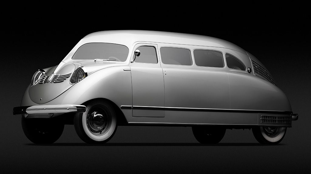 17 of the Most Beautifully Bizarre Cars Ever Designed | The 1936 Stout Scarab was an upscale proto-mini van. It kept passengers comfortable and their flatware in place with a cushy four-wheel independent suspension.   Michael Furman  | WIRED.com