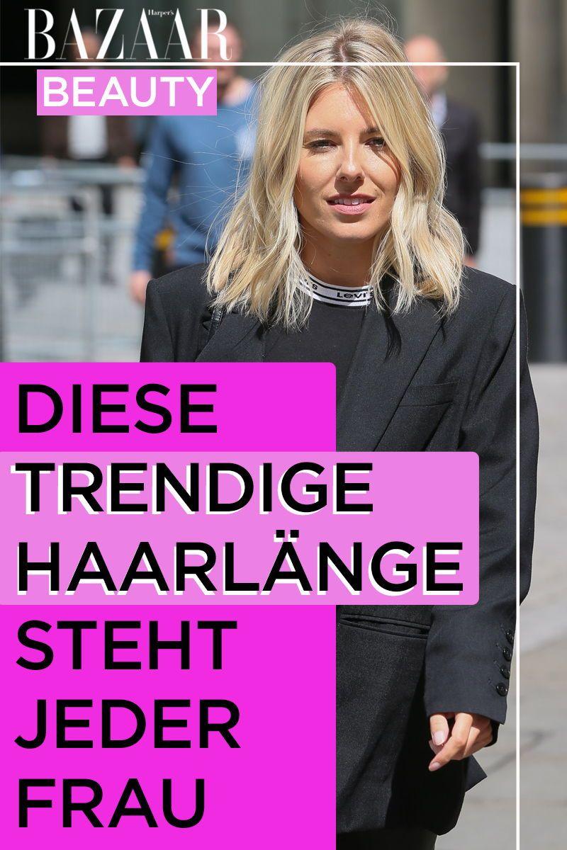 Frisur Diese Haarlange Steht Jeder Frau Und Ist Trend In 2020 Frisuren 30er Frisuren Frisuren Anleitung