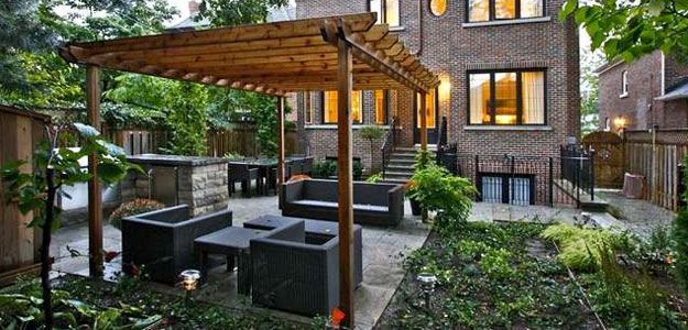 Pergola: Modern, Beauty, Practical, Backyard, Walkway ... on Backyard Decor Canada id=54963