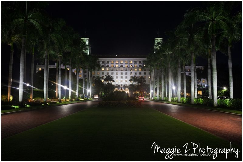 The Breakers Palm Beach, night shot, long exposure, wide