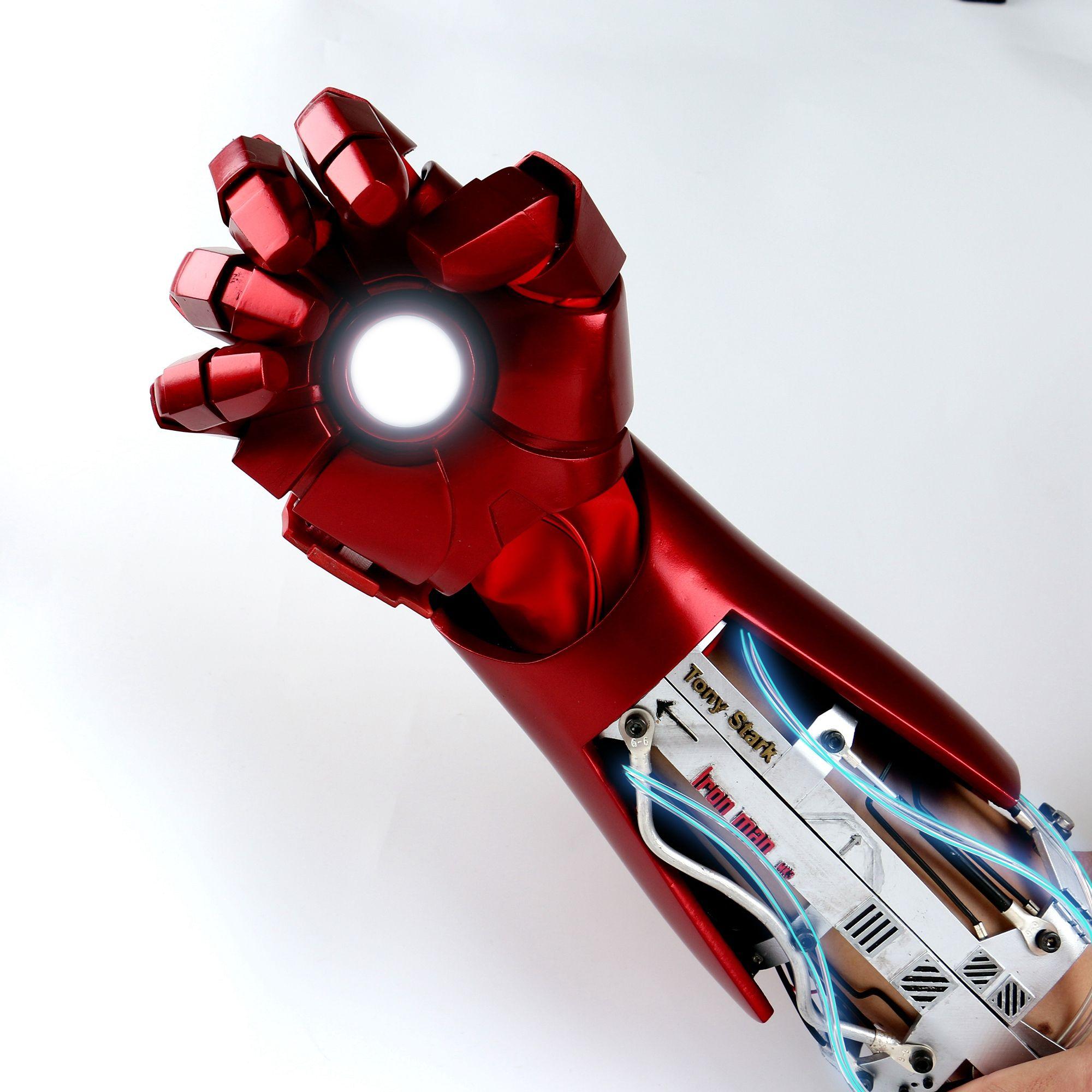 Iron Man Glove Arm Armor Armor Iron Man