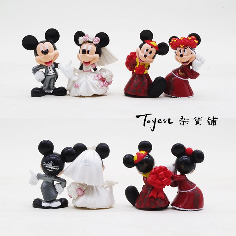 Mickey mouse wedding decoration mickey minnie wedding model cake mickey mouse wedding decoration mickey minnie wedding model cake decorative handmade dolls dolls taobao global junglespirit Images