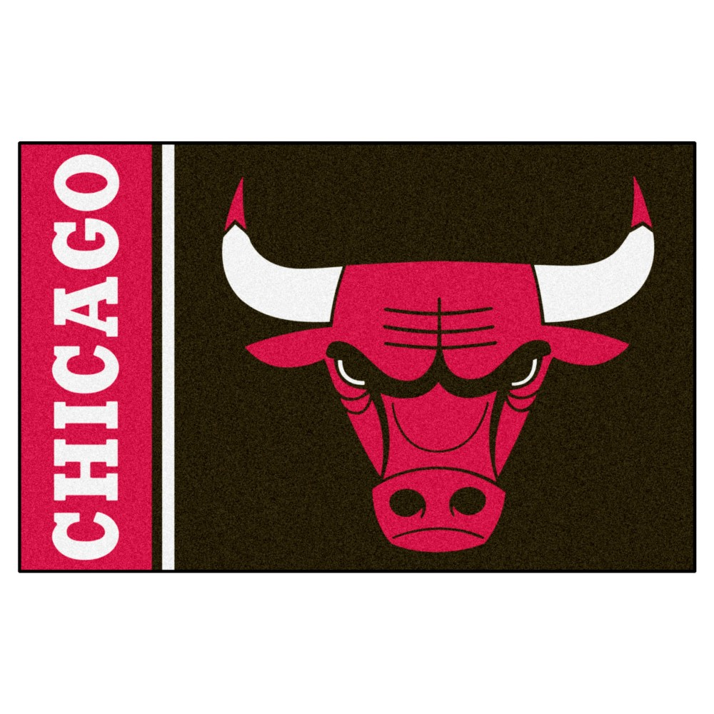 "NBA Chicago Bulls Uniform Starter Rug 19""x30"""