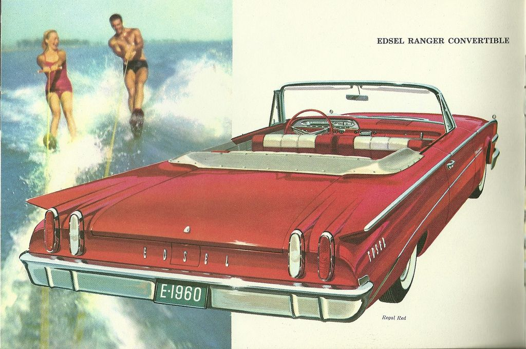 Edsel for 1960   Auto sales, Cars and Ford