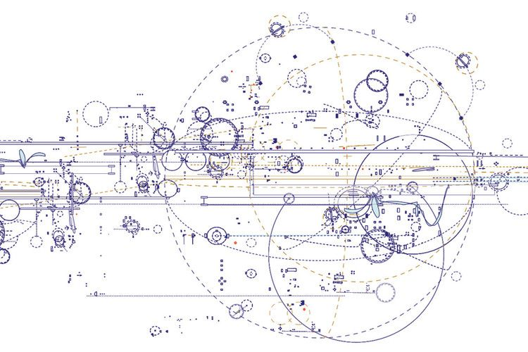 Artist Draws The Blueprints For Music, Space, And Architecture ...