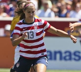 U.S. women's soccer: Alex Morgan leads team into Saturday's Olympic match against Colombia - London Olympics 2012 - Sporting News
