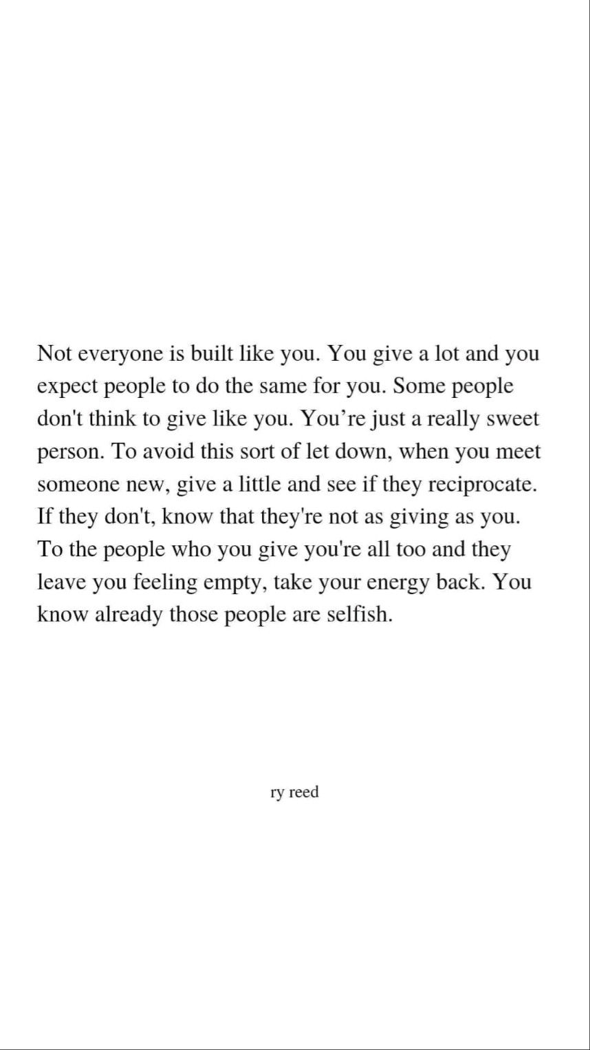 save your energy for the right people