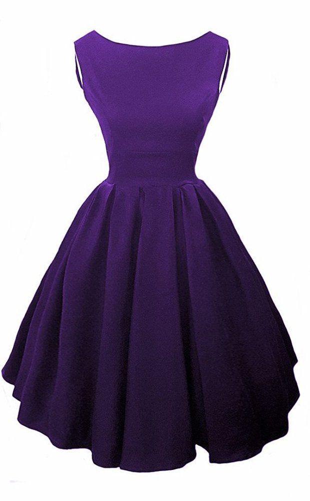 Elizabeth Stone, Elisa, Audrey Hepburn 50s Rockabilly Pin Up Dress ...
