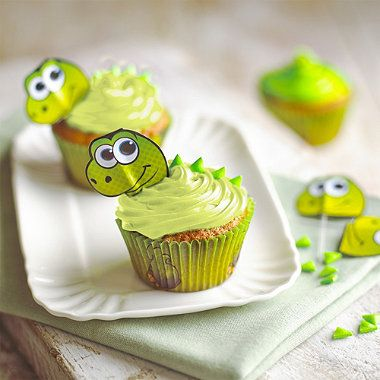Dinosaur Cupcake Decorating Kit party Pinterest Dinosaur