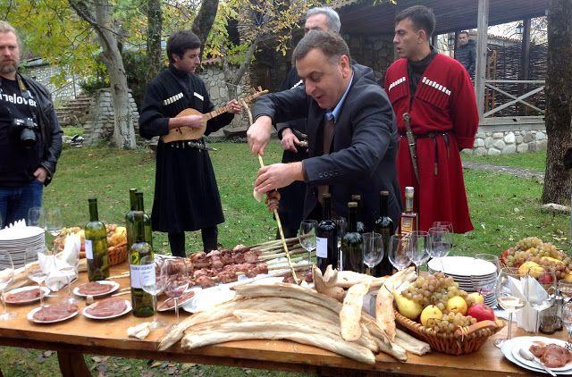 georgian feast