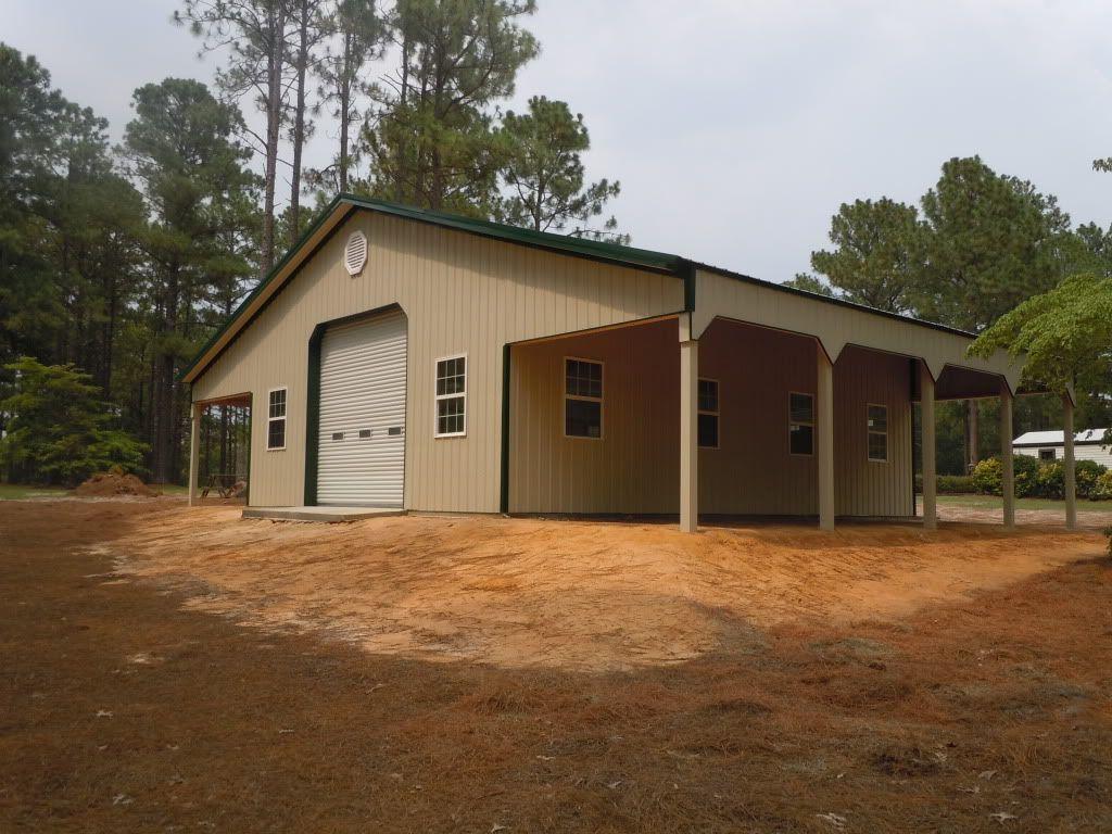30x40 Metal Building Hubs Hideout Metal House Plans Pole