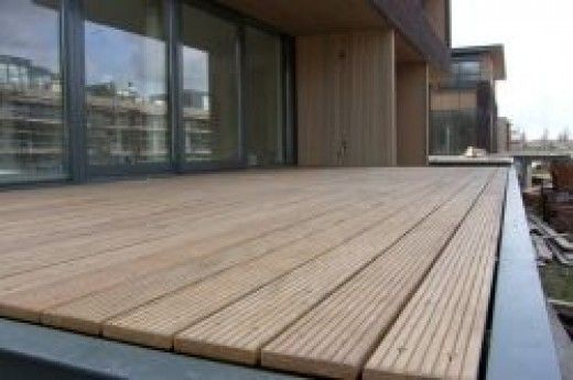 How To Deck Your Flat Roof Balcony Patio With Timber Or Slabs