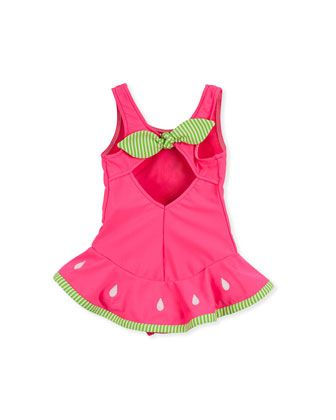 Florence Eisman baby girl watermelon swimsuit