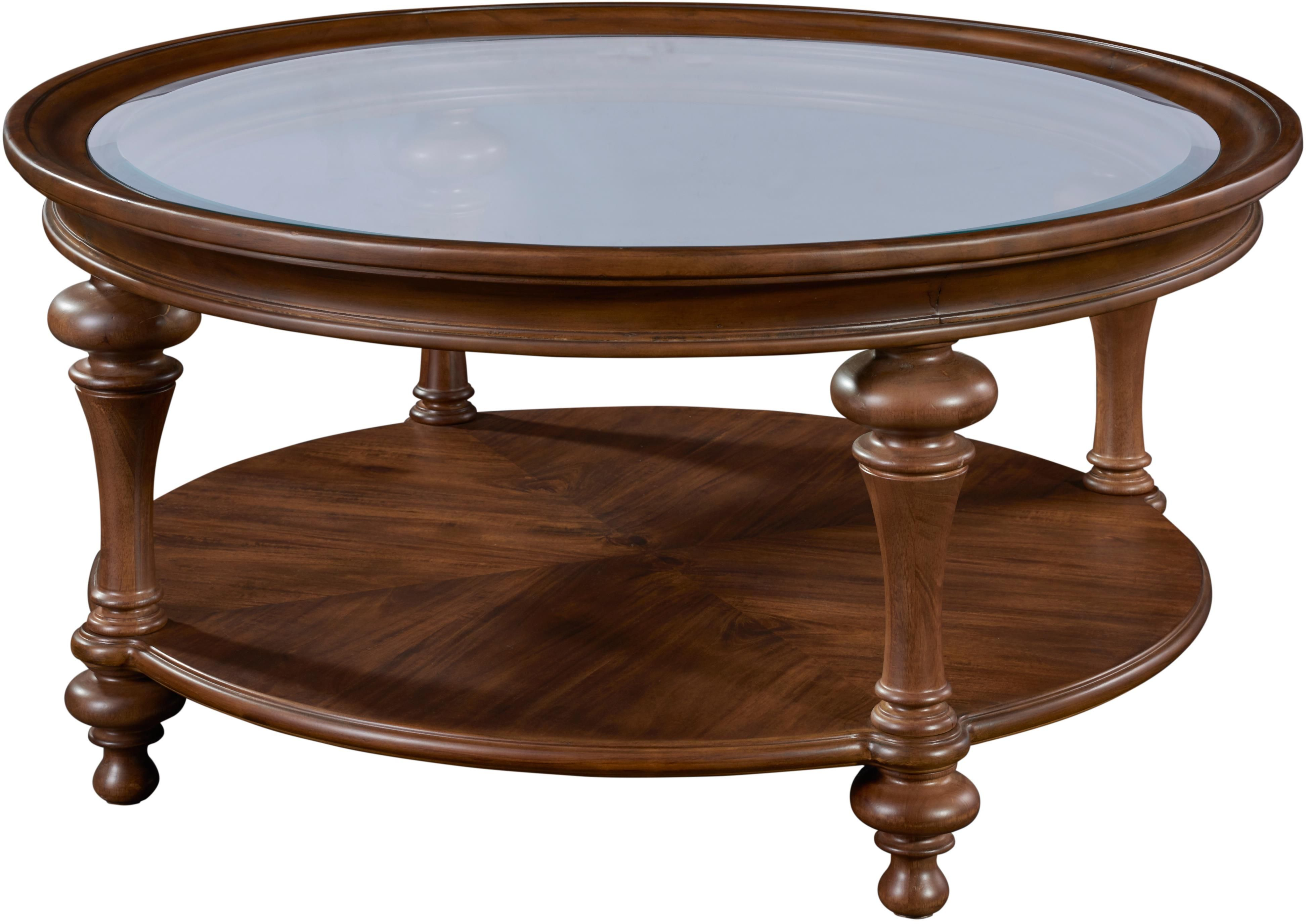 Cascade Round Cocktail Table by Broyhill Furniture at Baer