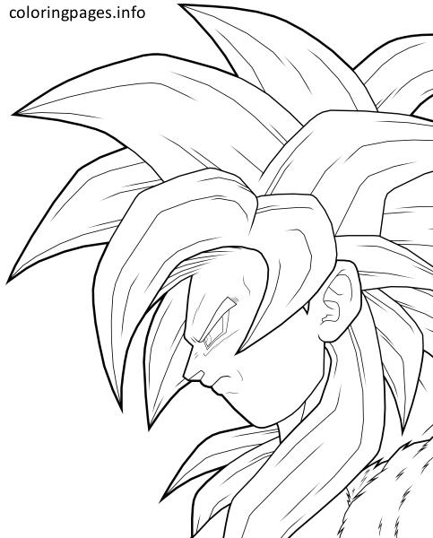 goku super saiyan 6 coloring pages coloring pages pinterest