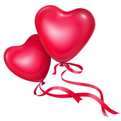 happy birthday balloons i found this humerus pinterest rh pinterest com wedding rings heart clipart wedding heart clip art free