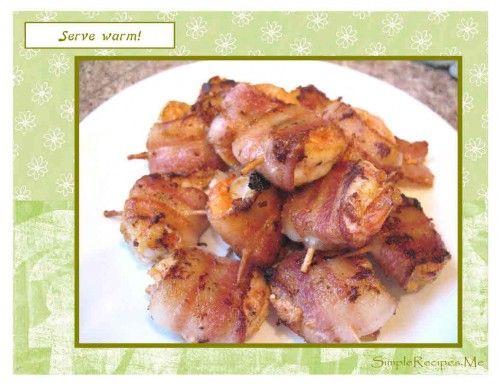 Shrimp Wrapped BAcon