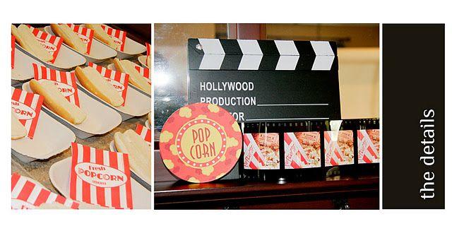 Movie night bday party
