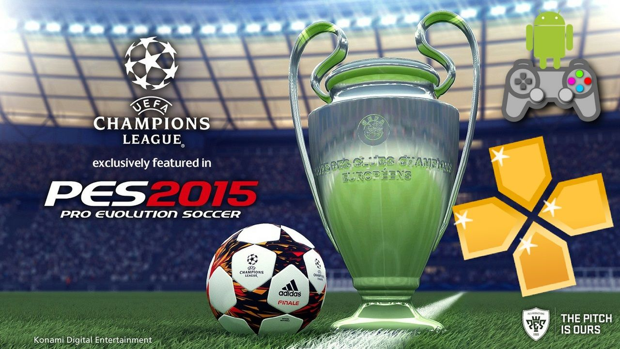 PES 2015 PPSSPP for Android Download | Cell Phone Games | Pro