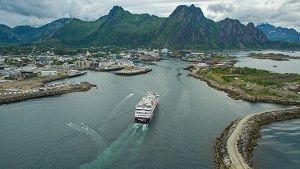 """""""MS Spitsbergen"""" ist erster Hurtigrutenzugang seit neun Jahren"""