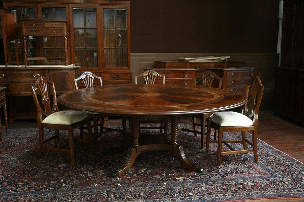Round Dining Table Set With Leaf Extension What Is It And How It