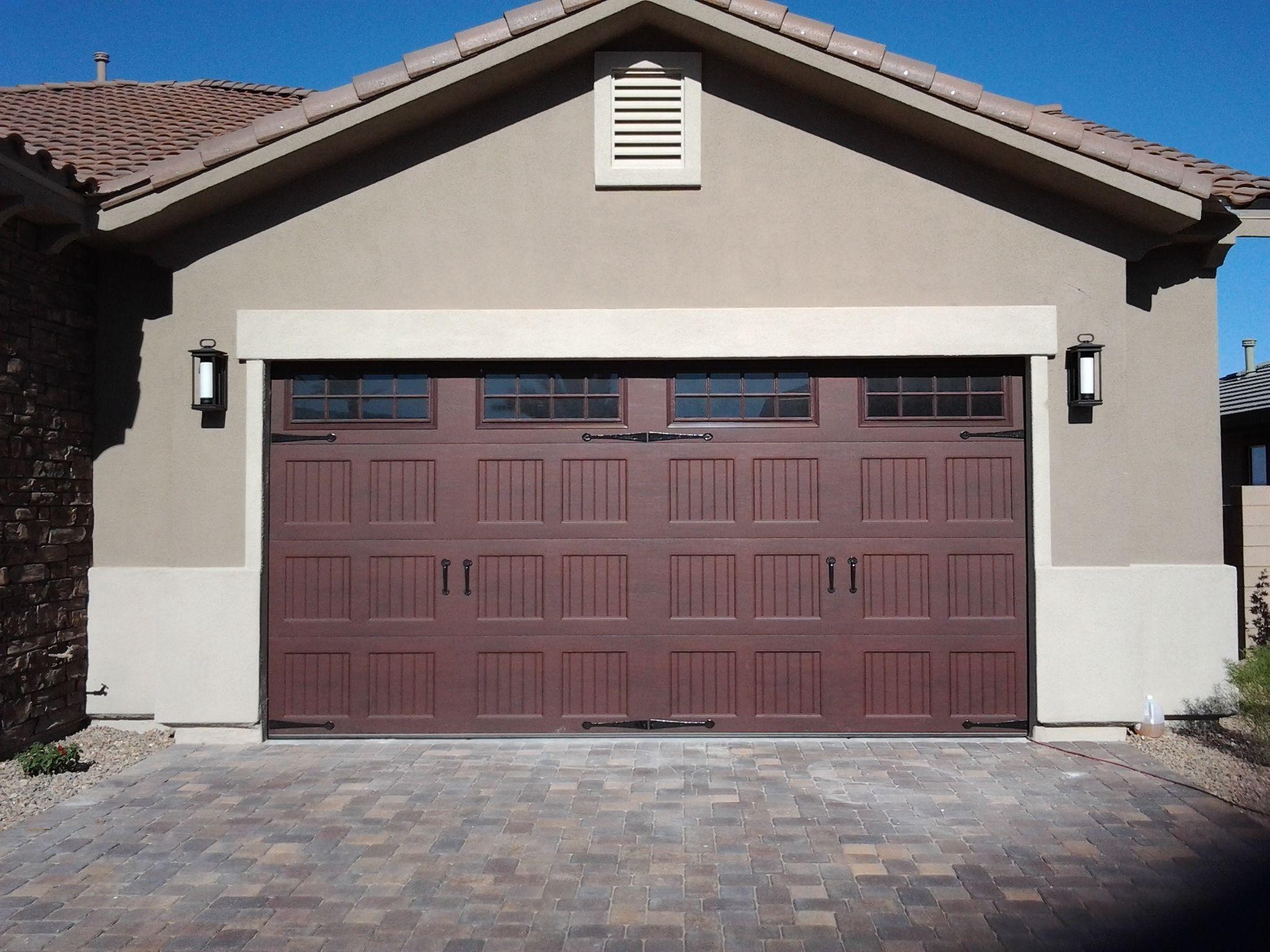 Charmant Double Car Garage Door With Windows