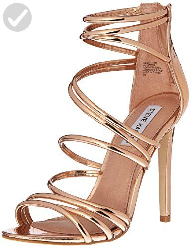 a874899300 Steve Madden Women's Santi Dress Sandal, Rose Gold, 10 M US - All about  women (*Amazon Partner-Link)