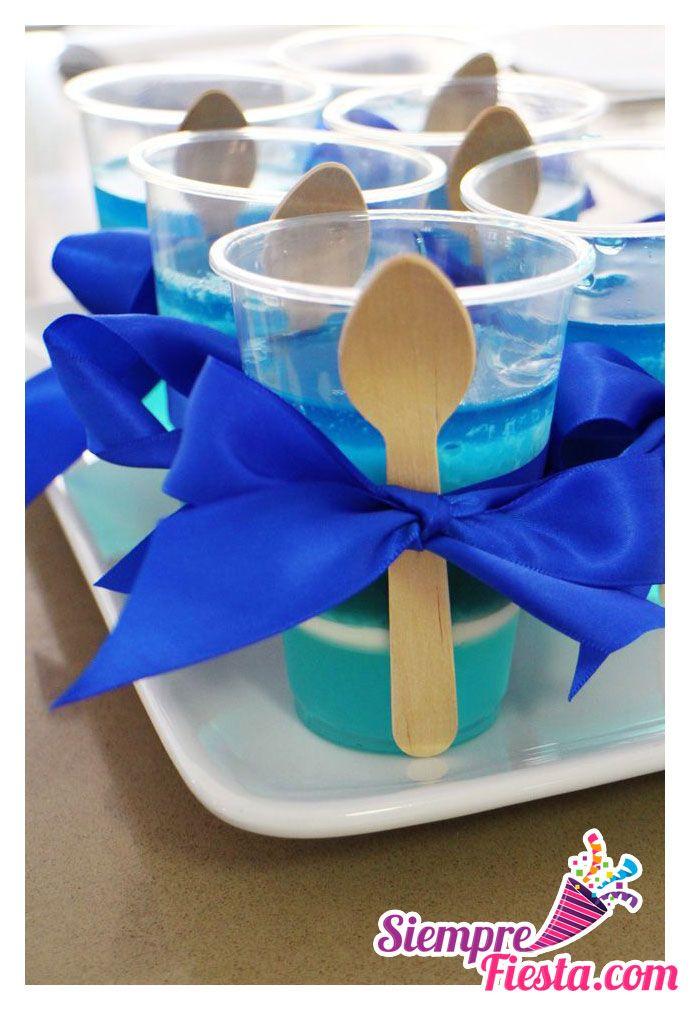 Ideas para fiesta de cumpleaños o de adultos de color Azul